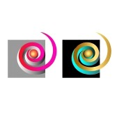 Spirales-colorees-et-or